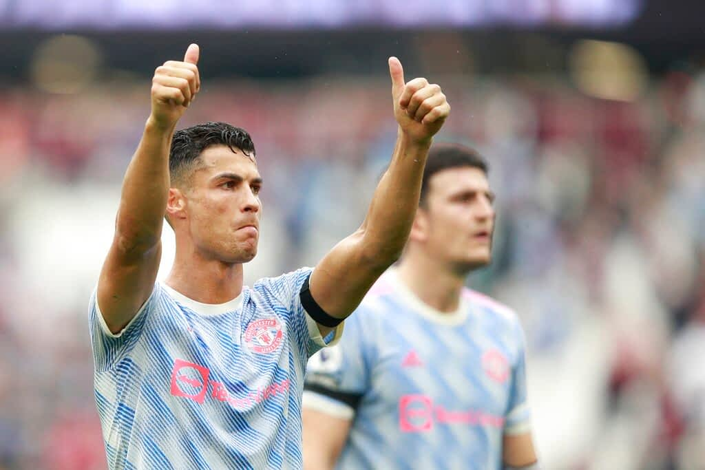 Man United Cristiano Ronaldo