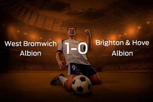 West Bromwich Albion vs. Brighton & Hove Albion