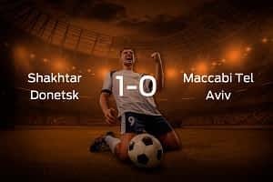 Shakhtar Donetsk vs. Maccabi Tel Aviv