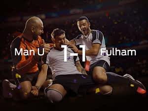 Manchester United vs. Fulham