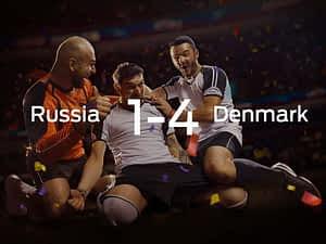Russia vs. Denmark
