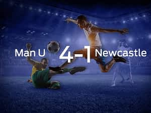 Manchester United vs. Newcastle United