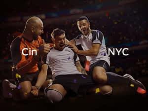 Cincinnati vs. New York