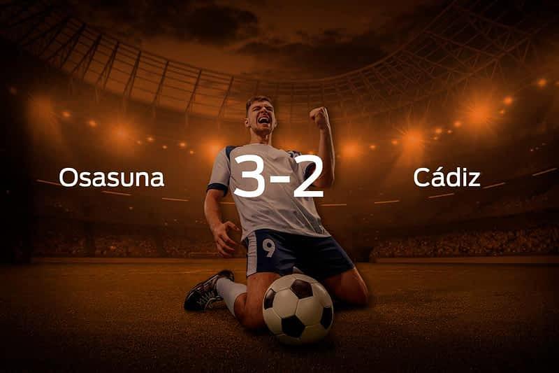 Osasuna vs. Cádiz