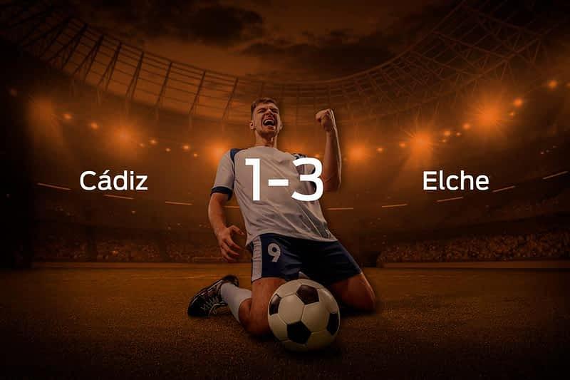 Cádiz vs. Elche