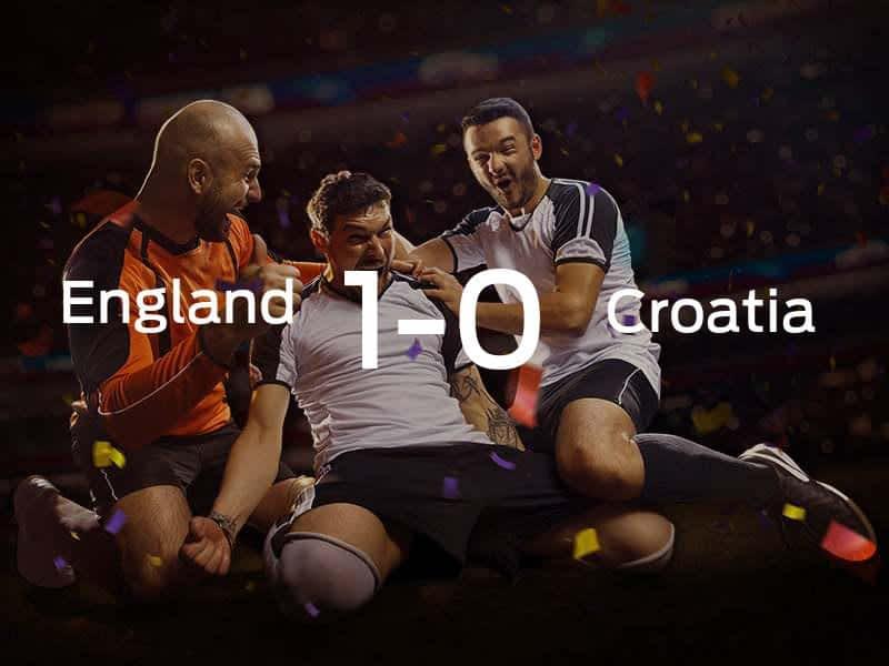 England vs. Croatia