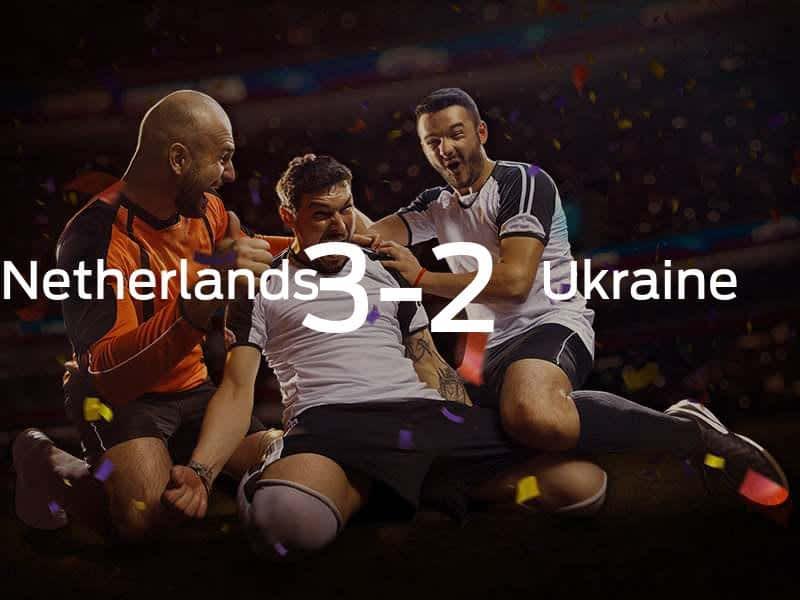 Netherlands vs. Ukraine