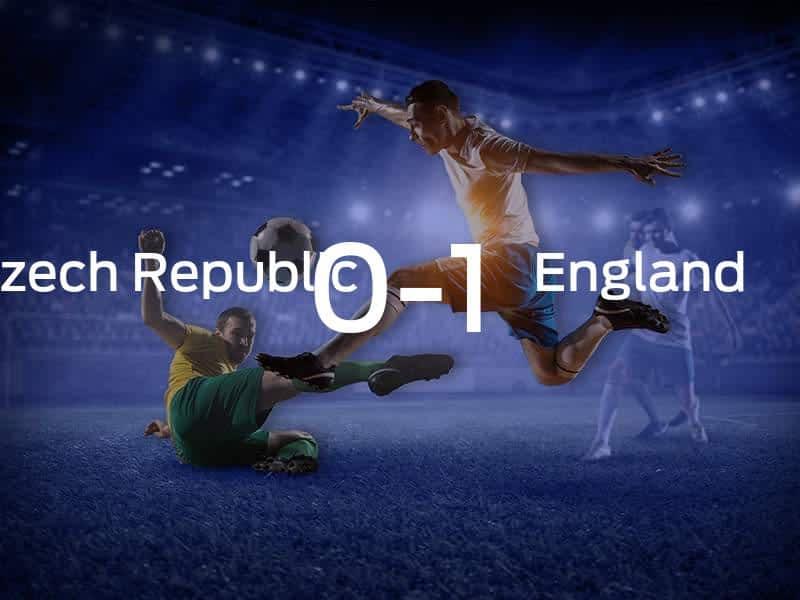 Czech Republic vs. England