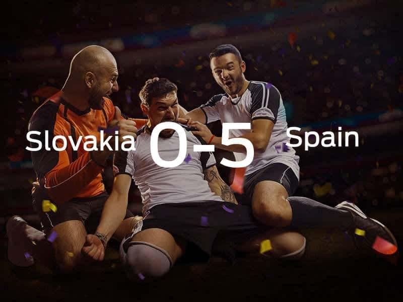 Slovakia vs. Spain