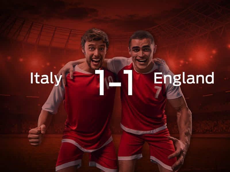 Italy vs. England