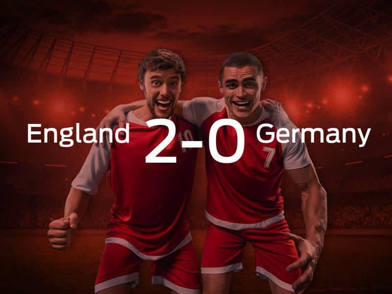 England vs. Germany