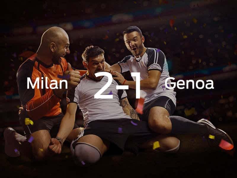AC Milan vs. Genoa