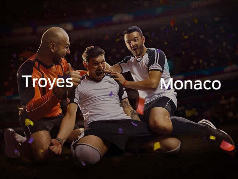 Troyes vs. AS Mónaco