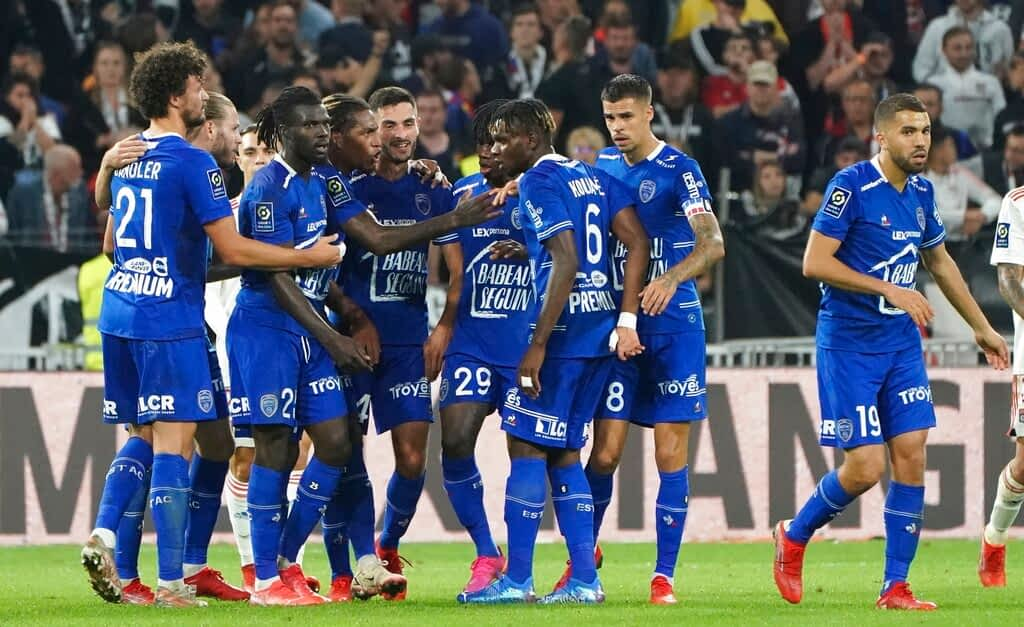 Troyes 1-0 Nice