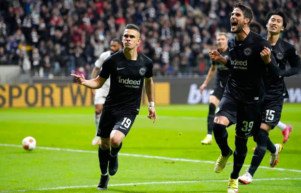 Eintracht Frankfurt 3-1 Olympiacos Piraeus