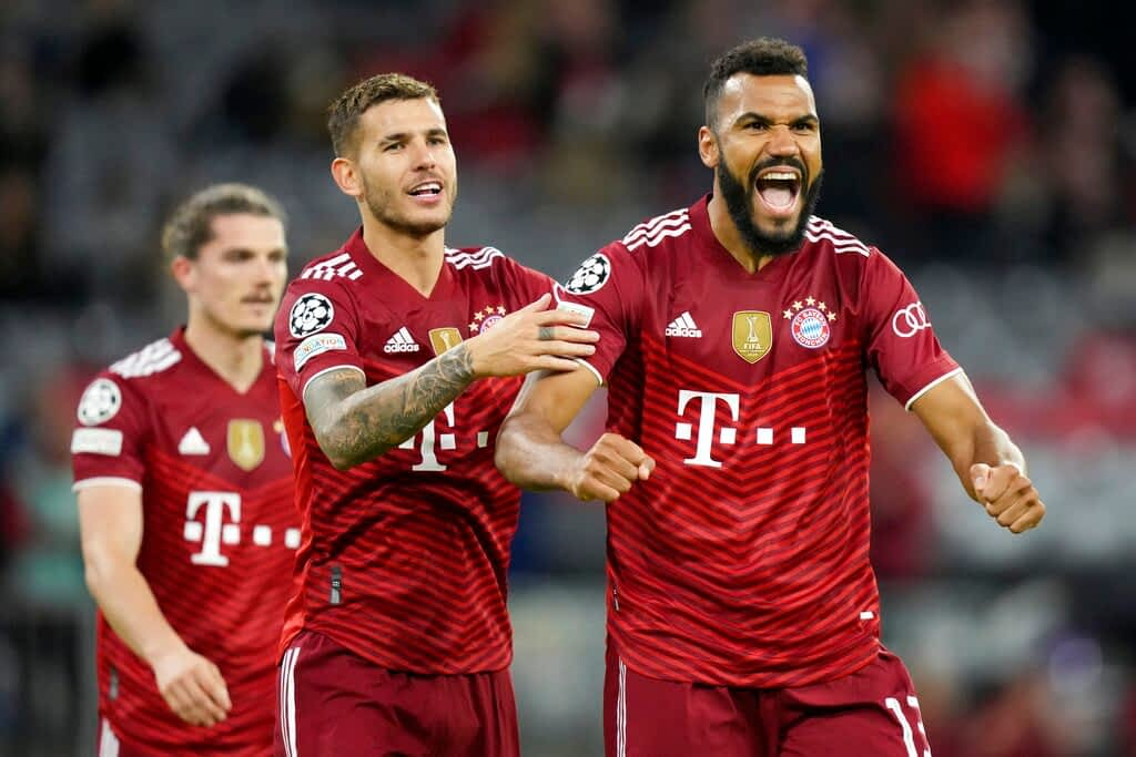 Bayern Munich 5-0 Dynamo Kyiv
