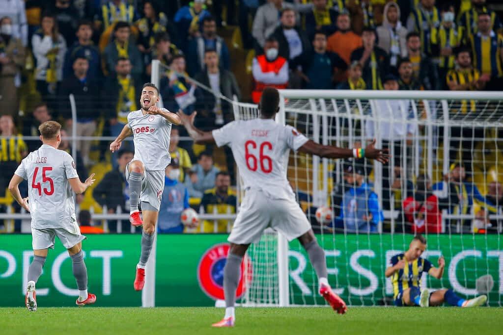 Fenerbahçe vs. Olympiacos Piraeus