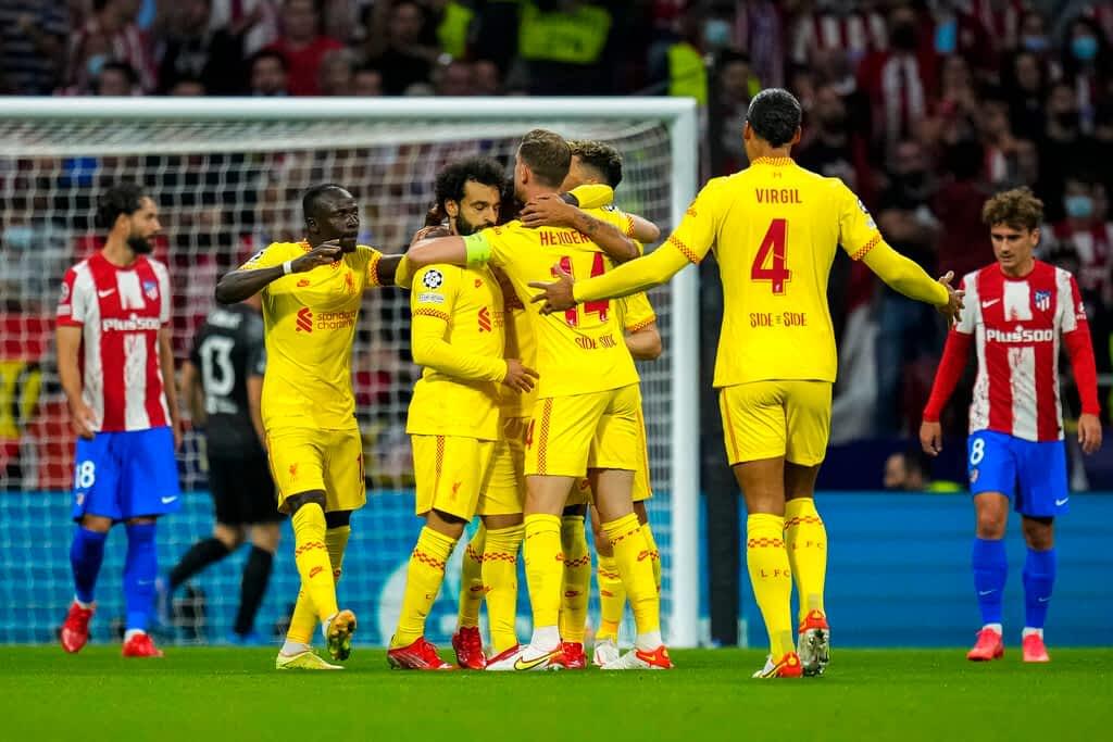 Atletico Madrid 2-3 Liverpool