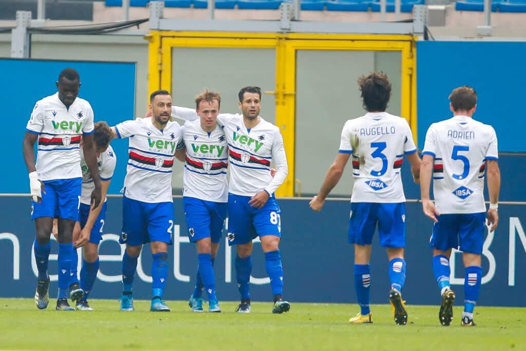 Sampdoria 2-1 Spezia Calcio