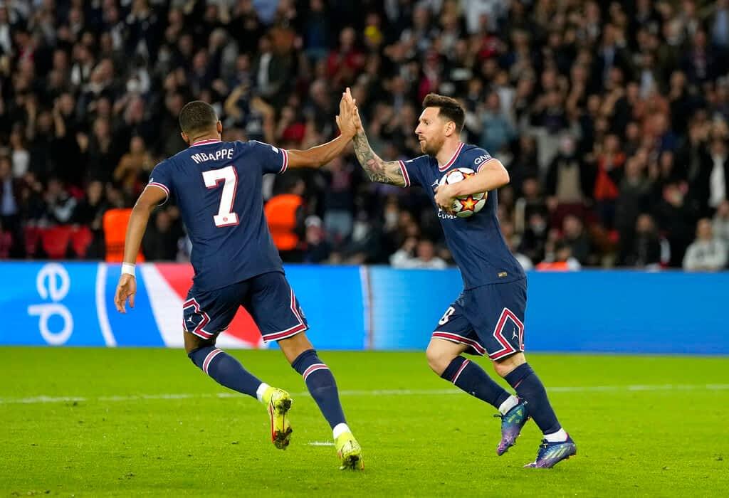 Paris Saint-Germain 3-2 RB Leipzig
