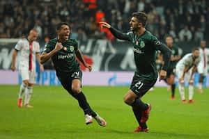 Besiktas 1-4 Sporting CP