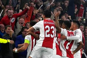Ajax 4-0 Borussia Dortmund