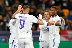 Shakhtar Donetsk 0-5 Real Madrid