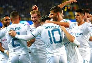 Club Brugge 1-5 Manchester City