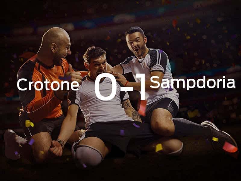 Crotone vs. Sampdoria