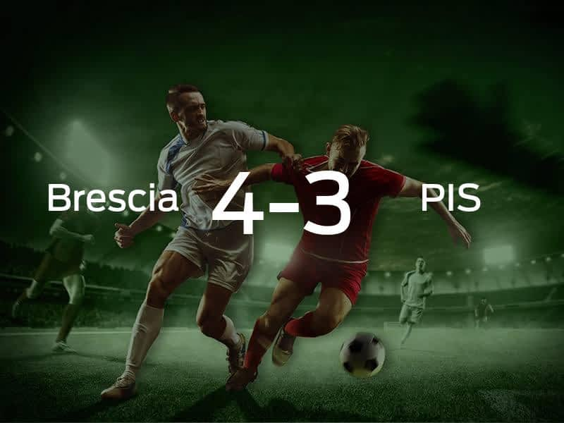 Brecia Calcio vs. Pisa