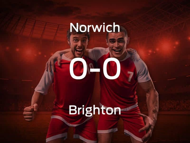 Norwich City vs. Brighton & Hove Albion